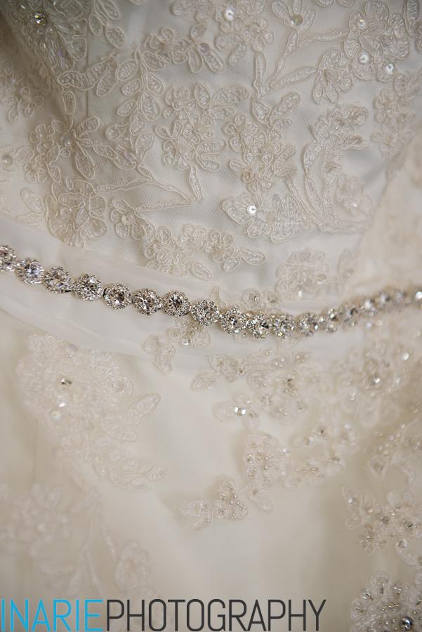 Debby dress details