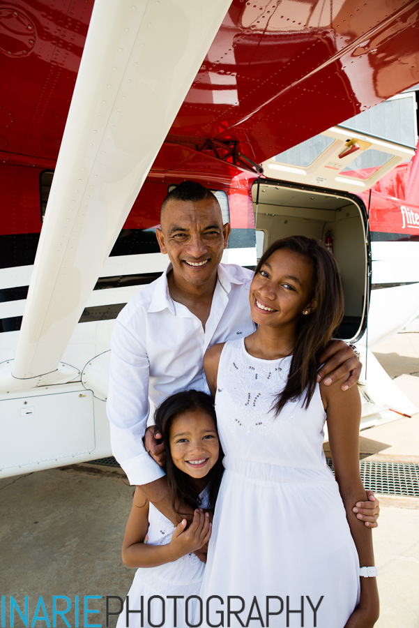 Happy family! - Rafique with their two beautiful girls