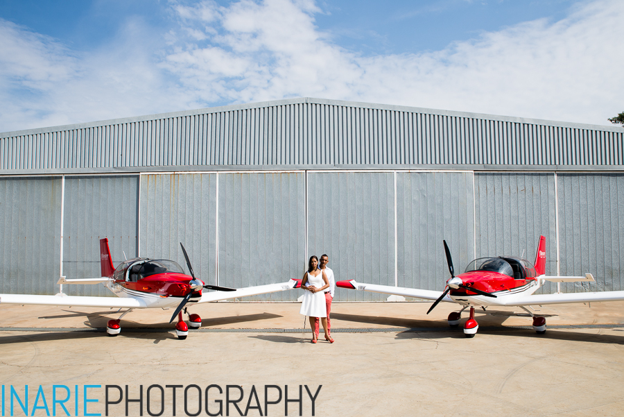 Engagement shoot: Rafique and Lee-Ann {Wonderboom airport, Pretoria}