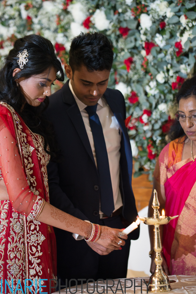 Deepesh and Shinu lighting unity candle