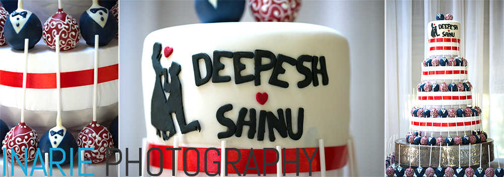 Deepesh and Shinu cake